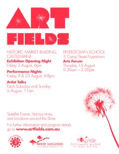 2013 Art Fields Flyer Back
