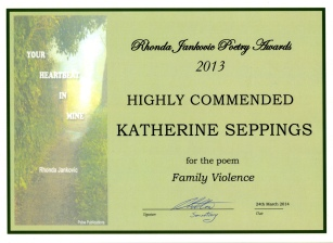 Seppings_Katherine_Rhonda Jankovic Poetry Award_HC_2014 s