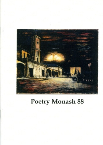 Poetry Monash 88_cover s