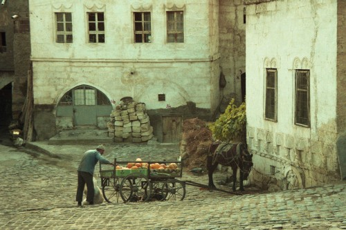 Turkey_man with wagon_1997 s