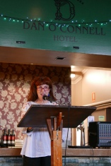 Dan Poets Anthology launch Dan O'Connell Hotel (photo by Maya Rose)